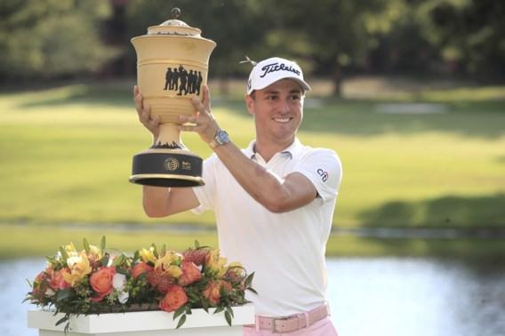 Golfer Justin Thomas triomfeert en wordt opnieuw nummer 1 van de wereld