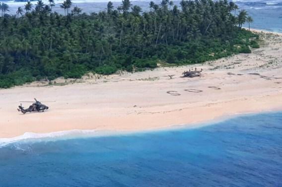 Vermiste matrozen gevonden dankzij SOS in het zand