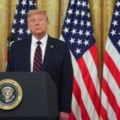 Trump oneens met journalist over coronacijfers in bizar interview: 'Wij zijn beter dan de wereld'
