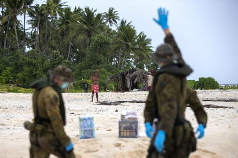 Schipbreukelingen gered dankzij 'SOS' op strand