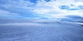 Marsvalleien werden door smeltwater uitgesleten