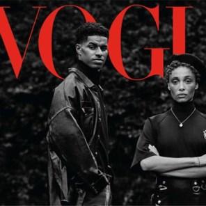 Topvoetballer schopt het tot coverster van 'Vogue' door strijd tegen kinderarmoede