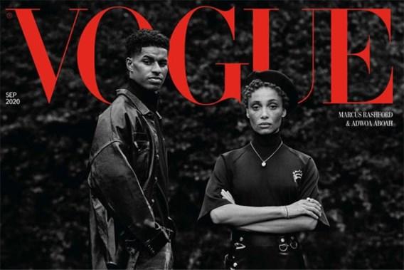 Topvoetballer haalt cover <I>Vogue</I> door strijd tegen kinderarmoede