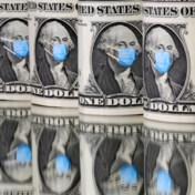 Het virus heeft ook de dollar klein gekregen