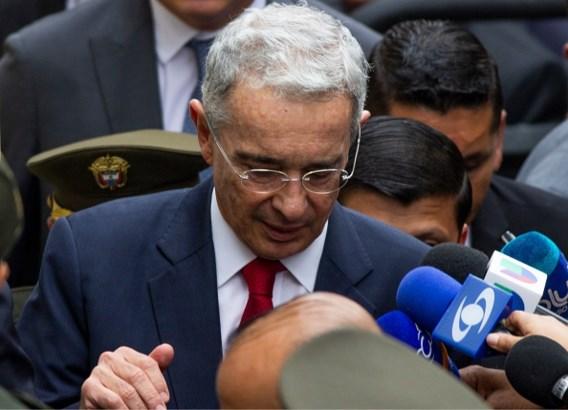 Colombiaanse oud-president Uribe onder huisarrest