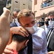 Libanese student tegen Macron: 'Help ons, dit is onaanvaardbaar'