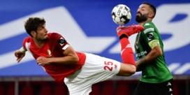 Antwerp raakt niet voorbij Moeskroen, Standard wint wel van Cercle
