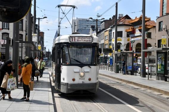 Tramlijnen 11 en 12 rijden zaterdag niet in Antwerpen