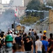 Libanese demonstranten zetten stroppen klaar in centrum, traangas ingezet