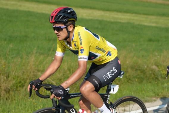 """Giro-winnaar Richard Carapaz start niet meer in slotrit van de Ronde van Polen: """"De beste oplossing na zijn val"""""""