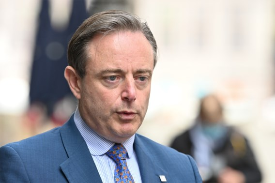 Belager Bart De Wever wordt gecolloqueerd