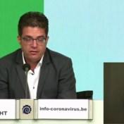 Crisiscentrum: 'Exponentiële groei lijkt gestopt'