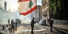 Grote confrontatie tussen betogers en politiek begint in Libanon