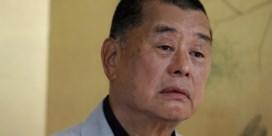 Arrestatie tycoon dreigt persvrijheid Hongkong te nekken
