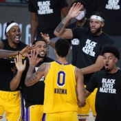 NBA. LA Lakers winnen dankzij driepunter in slotseconde