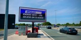 Dagjesmensen zijn in Knokke-Heist weer welkom als het regent