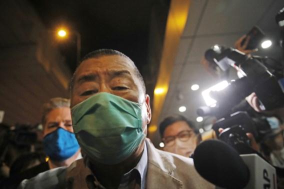 Hongkongse mediamagnaat op borgtocht vrij