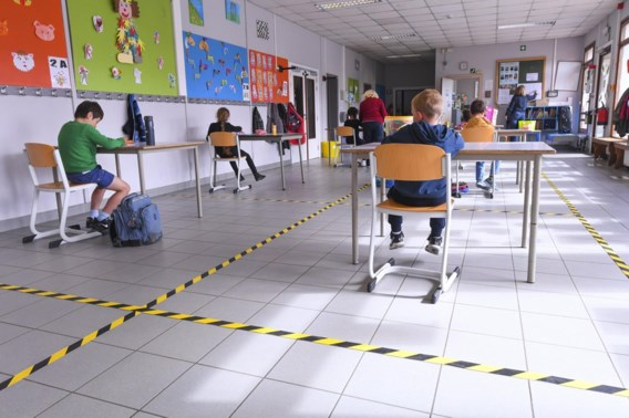 Corona raakt amper door de schoolpoort: 'Geruststellend'
