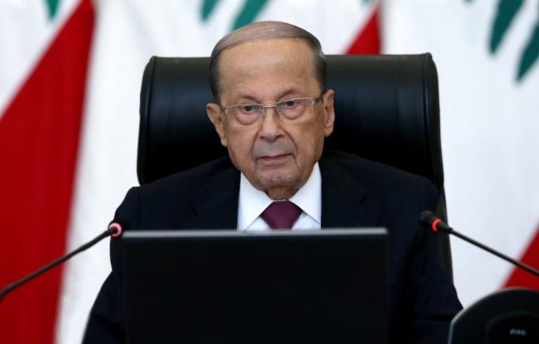 Libanese president: 'Schade overschrijdt vijftien miljard dollar'
