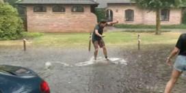 Hitte-onweders veroorzaken wateroverlast én waterpret