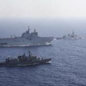 Macron drijft spanning met Turkije in Middellandse Zee nog op