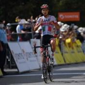 Geen drie op drie voor Jumbo-Visma in Dauphiné: Italiaan Formolo blijft net uit de greep van de toppers