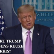 Trump trekt Amerikaanse afkomst Kamala Harris in twijfel