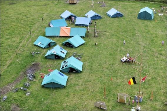 Geen enkele groep van Scouts en Gidsen Vlaanderen uit Han-sur-Lesse gezet