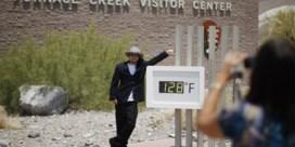 54,5 graden in Death Valley: mogelijk hoogste temperatuur ooit