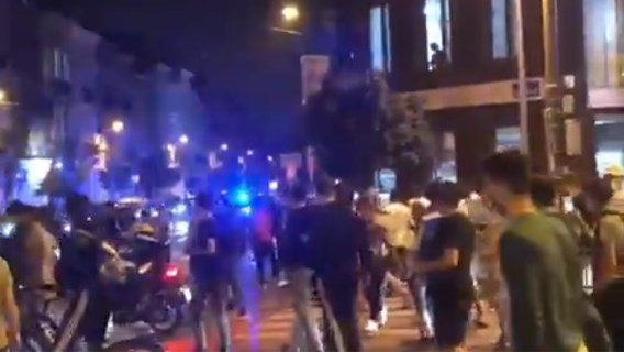 Politievakbond deelt beelden van tumult tijdens arrestatie in Schaarbeek