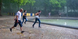 KMI kondigt opnieuw code geel af in meerdere provincies: kans op onweer, hagel en veel neerslag
