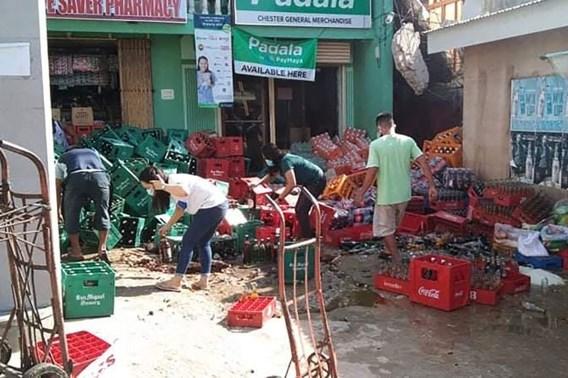 Aardbeving met kracht van bijna 7 treft Filipijnen