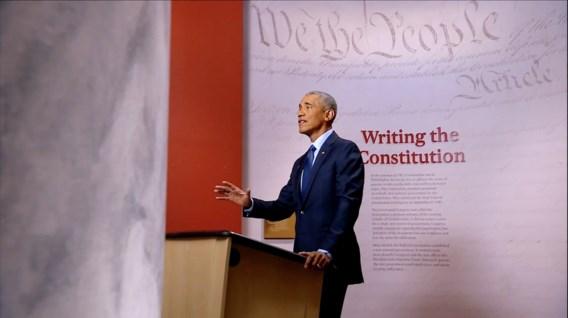 Obama luidt noodklok: 'Onze democratie is in gevaar'