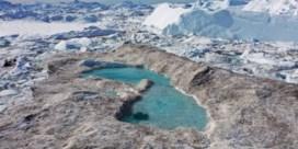 Groenlands ijs is in halve eeuw nog nooit zo hard gesmolten