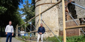 Langverwachte restauratie van een van de laatste stukjes stadsmuur gaat van start