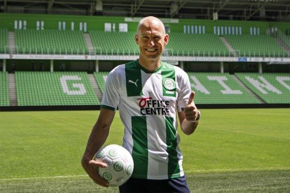 Arjen Robben maakt langverwachte rentree bij FC Groningen in oefenduel met Almere