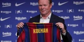 Filip Joos verwelkomt Ronald Koeman bij FC Barcelona