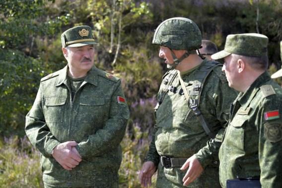 Loekasjenko brengt leger in staat van paraatheid