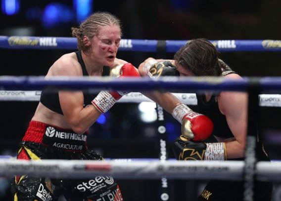 Delfine Persoon verliest kamp van de revanche tegen Katie Taylor: 'Dit keer respecteer ik de beslissing van de jury'