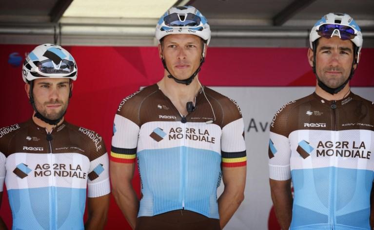 TOURPLOEGEN. Twee Belgen van Trek-Segafredo op ludieke wijze voorgesteld, Oliver Naesen enige landgenoot bij AG2R