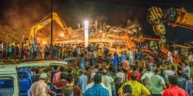 Tientallen mensen onder puin na instorten appartementsblok in in India
