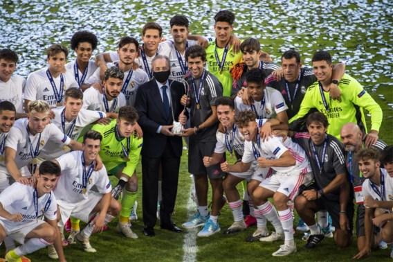 Raul blijft prijzen winnen: Real Madrid verslaat Benfica in finale UEFA Youth League