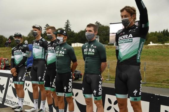 BORA-renner die in Plouay positief testte krijgt bij tweede test negatief resultaat, ganse ploeg was niet gestart