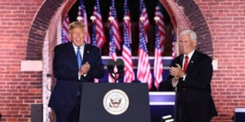 Vicepresident Mike Pence: Trump staat voor '<I>law and order</I>', 'chaos en vernieling op straat' met Democraten aan het roer