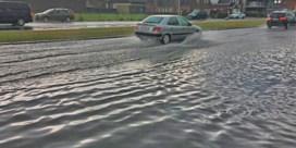 Onweersbuien zorgen voor wateroverlast in Vlaanderen en Brussel