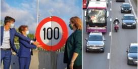Vanaf september mag je nog 100 per uur over hele Brusselse Ring