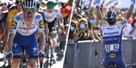 """Dries Devenyns zag maatje Alaphilippe winnen... op smartphone van supporter: """"Had me even aan de kant gezet"""""""