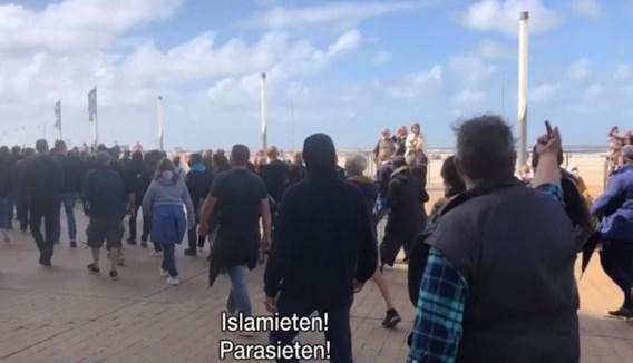 Unia na extreemrechtse manifestatie Oostende: 'Mensen vergelijken met ongedierte is een grens die overgestoken wordt'