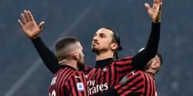 Zlaten Ibrahimovic blijft een seizoen langer ploegmaat van Alexis Saelemaekers bij Milan (wat wil je met zo'n loon?)