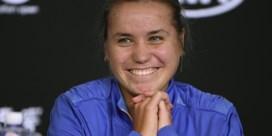 """Sofia Kenin opent tegen Yanina Wickmayer op de US Open: """"Staar me niet blind op eindwinst"""""""